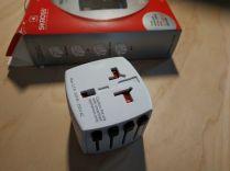 Test de l'adaptateur secteur de voyage pour prise International - MUV Micro By Skross