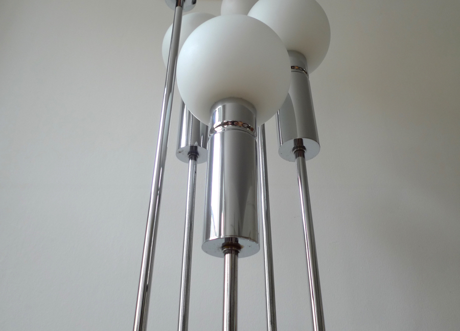 Best Mid Century Modern Chrome Floor Lamp Amp Ab07
