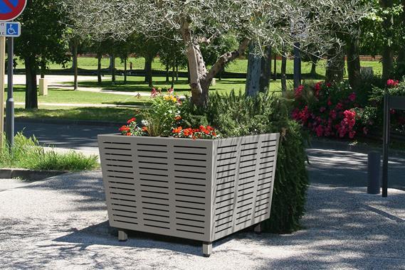 jardiniere azimut mobilier urbain