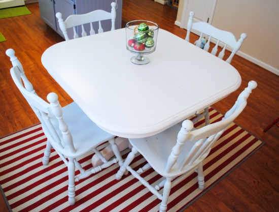 Kitchen Table Makeover 1