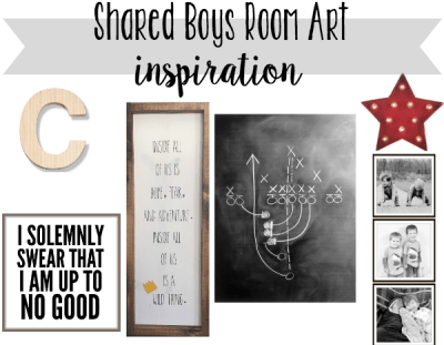 Shared Boys Room Plan