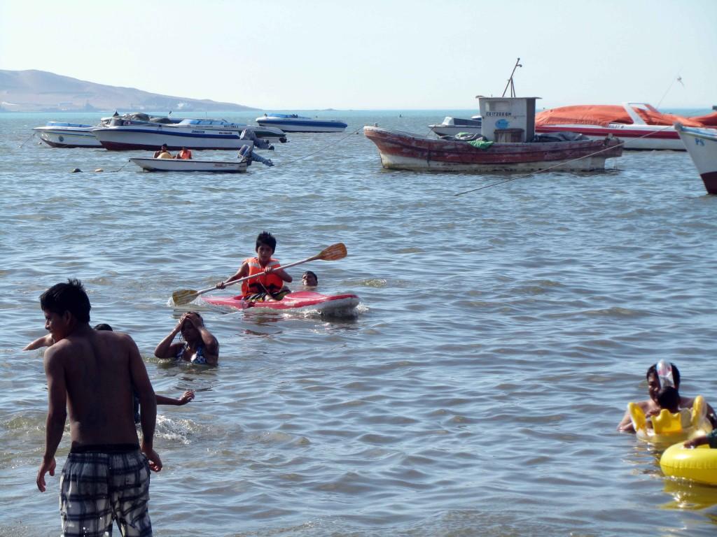 Kayak El Chaco Paracas Ica