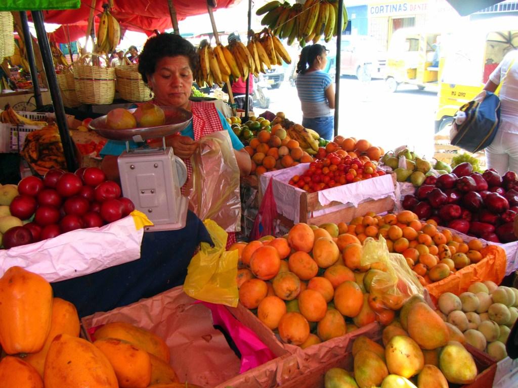 Mercado Modelo Ica Peru