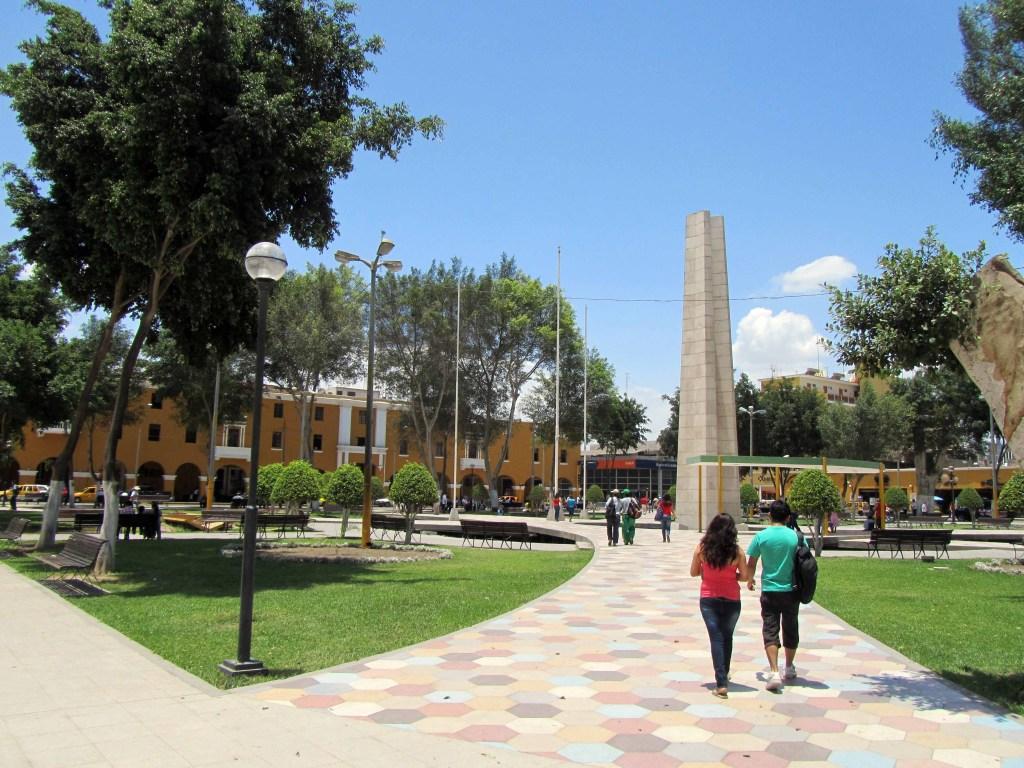 Plaza de Armas Ica
