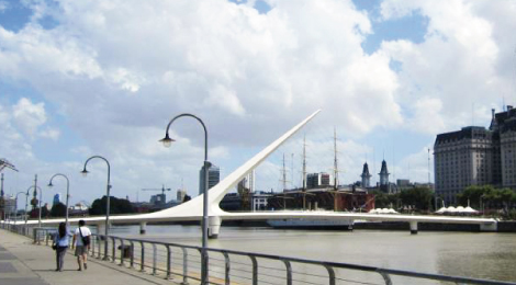 Buenos Aires Puente de la Mujer