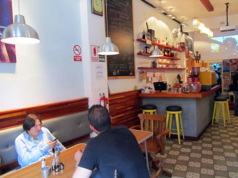 La Cafetera en Miraflores