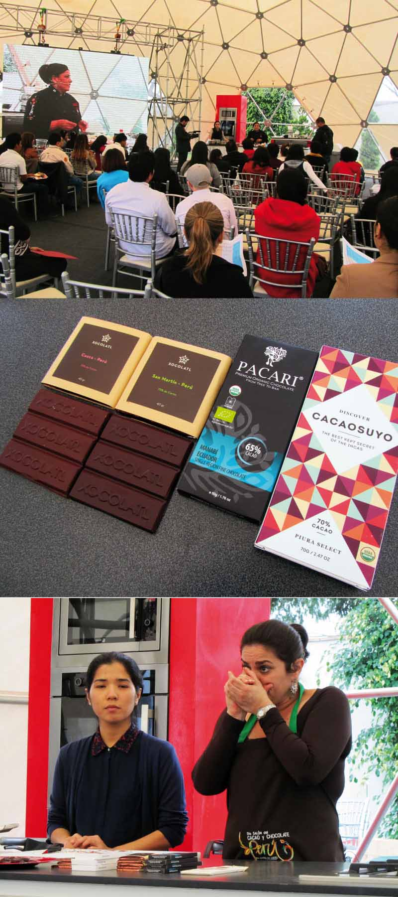 salón cacao y chocolate