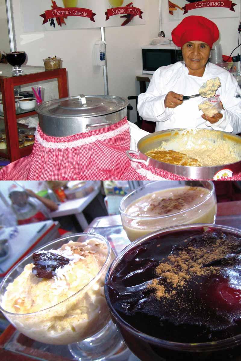dulces peruanos