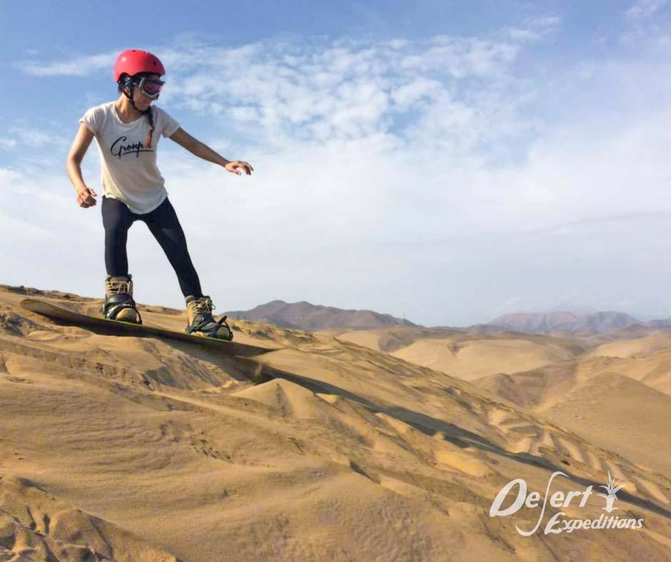 sandboarding en Perú