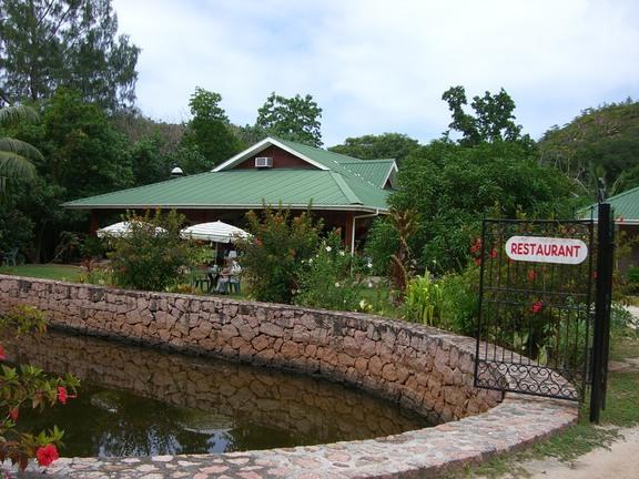 Restaurant auf den Seychellen