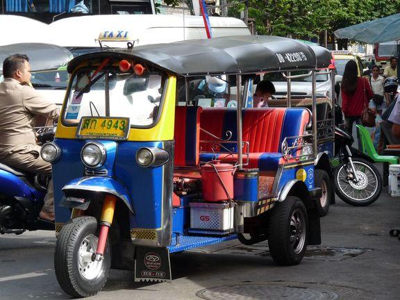 in den Straßen Bangkoks