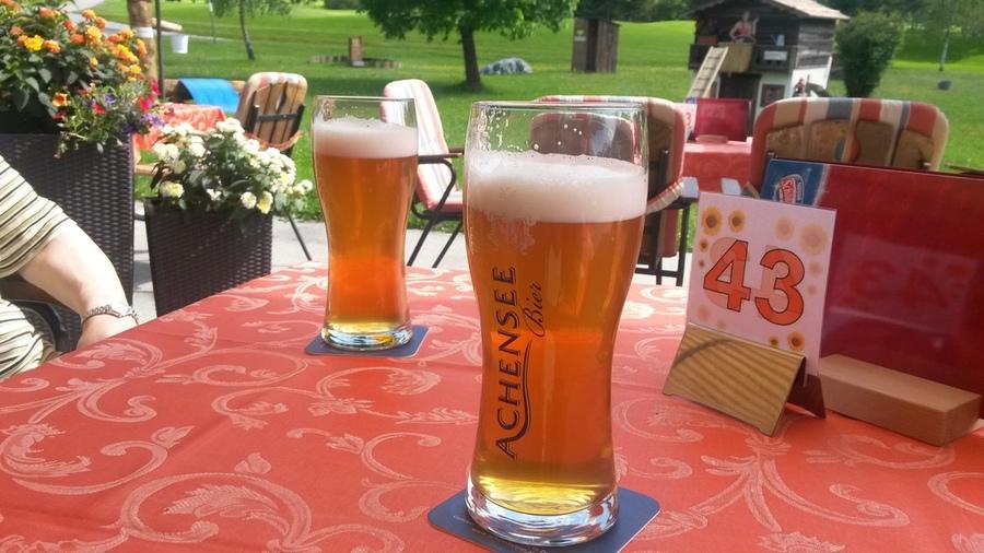 Bier aus der Pertisauer Brauerei