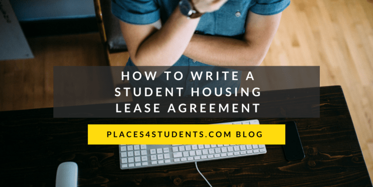 Places4students com   Helping Students Find A Home Away From Home The lease agreement is the most important component of any rental  arrangement  including student housing  The following template will give  landlords a