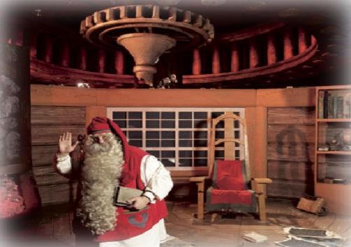 Safari di Babbo Natale – partenza da Rovaniemi