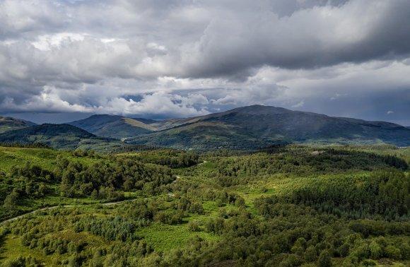 Glasgow, Trossachs, zona dei laghi – Tour con guida in italiano