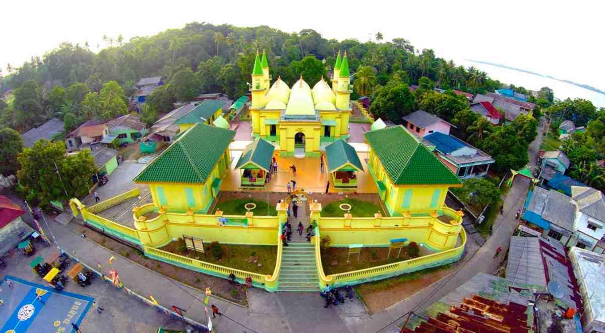 Pemandangan Indah Di Kepulauan Riau