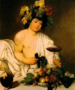 Bacco del Caravaggio