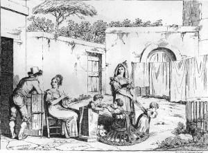 incisione di Bartolomeo Pinelli