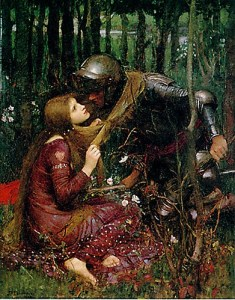 a belle dame sans merci william waterhouse