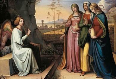 Von Cornelius le 3 Marie incontrano Angelo al Sepolcro