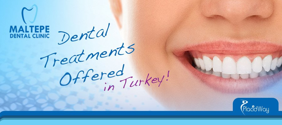 Dental Treatments Offered by Maltepe Dental Clinic Turkey