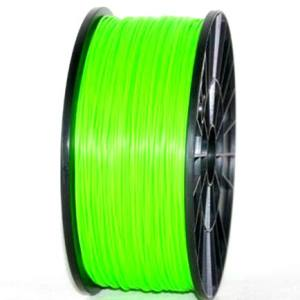 PLA 3.00mm 1KG 3D printer consumables green HIGH QUALITY GARANTITA SU MAKERBOT, MULTIMAKER, ULTIMAKER, REPRAP, PRUSA