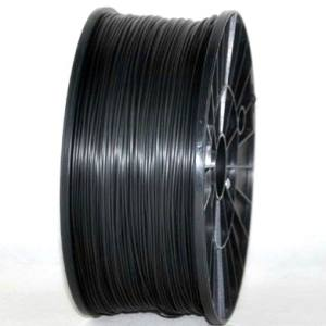 PLA 3.00mm 1KG 3D printer consumables black HIGH QUALITY GARANTITA SU MAKERBOT, MULTIMAKER, ULTIMAKER, REPRAP, PRUSA