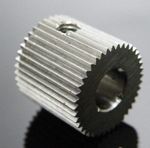 Outside diameter:12mm Hole:8mm 40 Tooth MK7/MK8 Stainless steel Wire Feed Gear per Stampante 3D / Estrusore