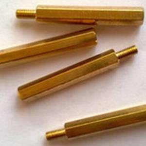 Colonne a vite esagonale filettate in ottone da 5 pezzi 25MM + 6 M3