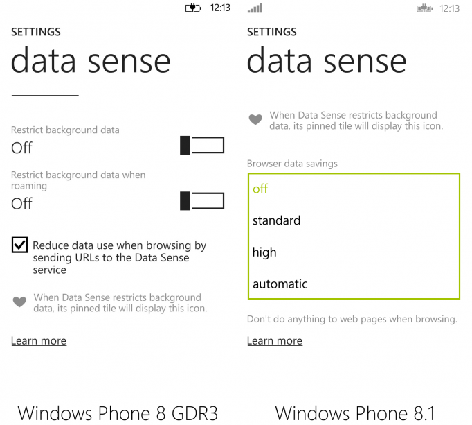 Data_Sense_Settings
