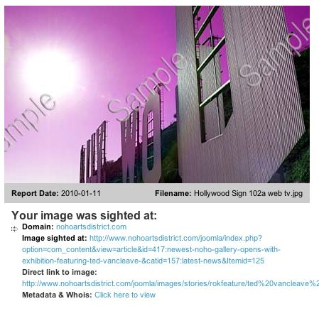 ImageRights: Protecting Images Online, For Free Image