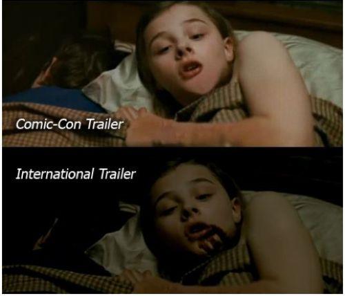 Let Me In Trailer Comparison