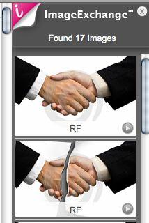 ImageExchange Sample Bar