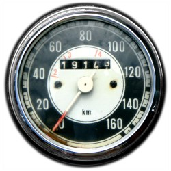 Zero Speedometer
