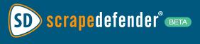ScrapeDefender Logo