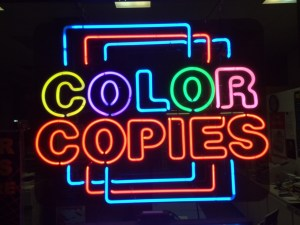 Color Copies Copy
