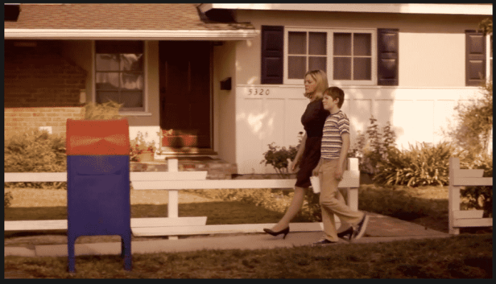 The Kids Are Alright image - Timmy and his mom walk the letter to the mailbox
