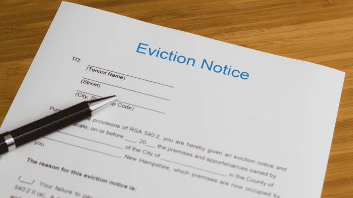 Eviction Notice Contract