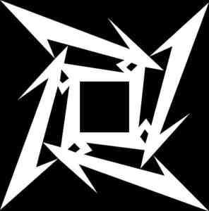 Metallica Ninja Star Logo