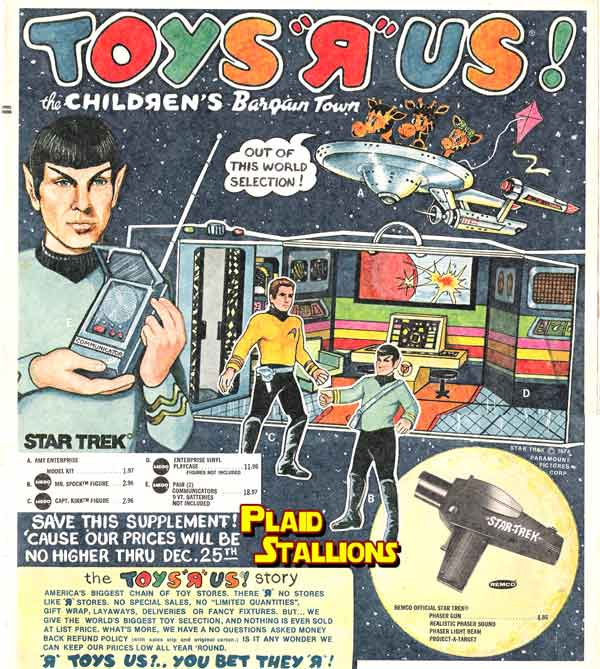 1975 Toys R Us Flyer
