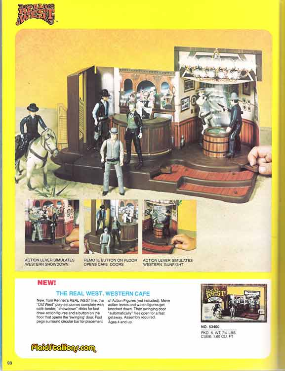Kenner Real West playsets