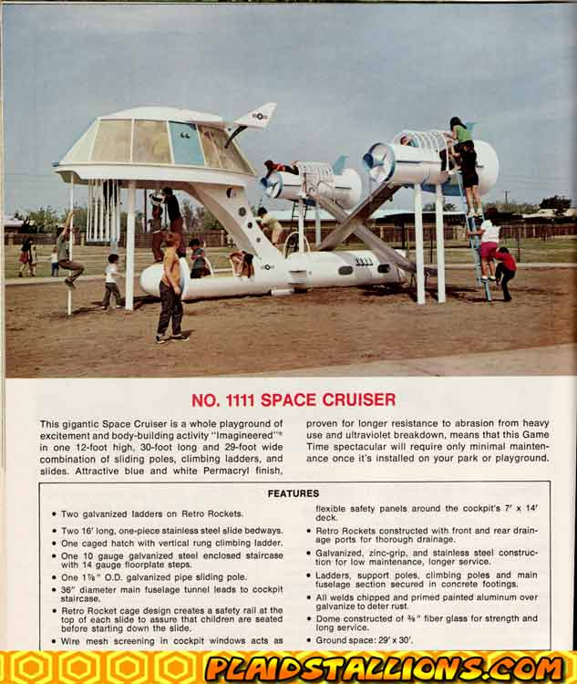 Space Cruiser playset