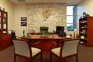 photo of Chief Riddle's office