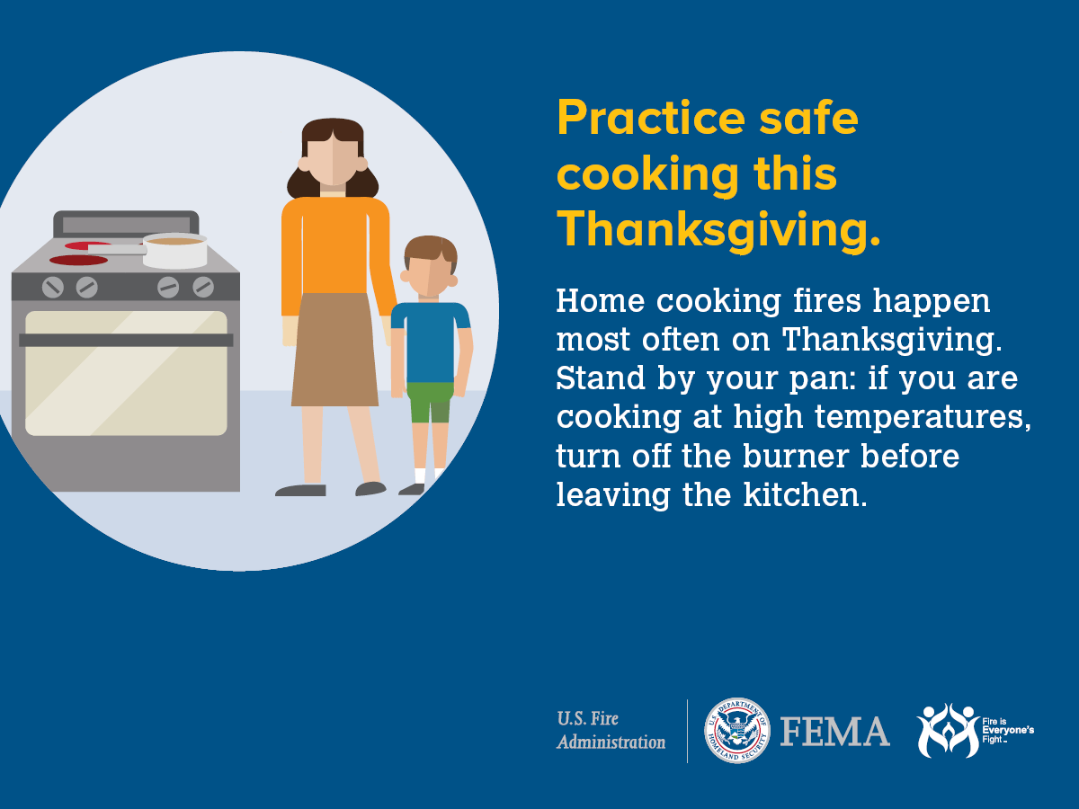 Thanksgiving Cooking Safety Plainfield Fire Protection District