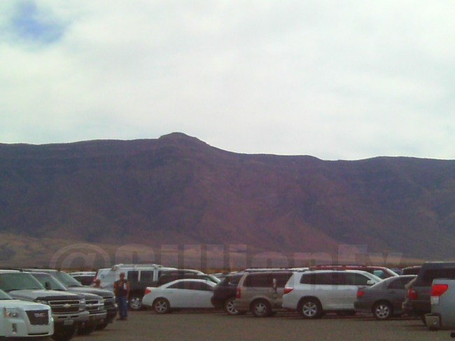 Mountains at Trinity Site NM