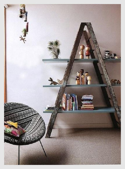 Recycled ladder