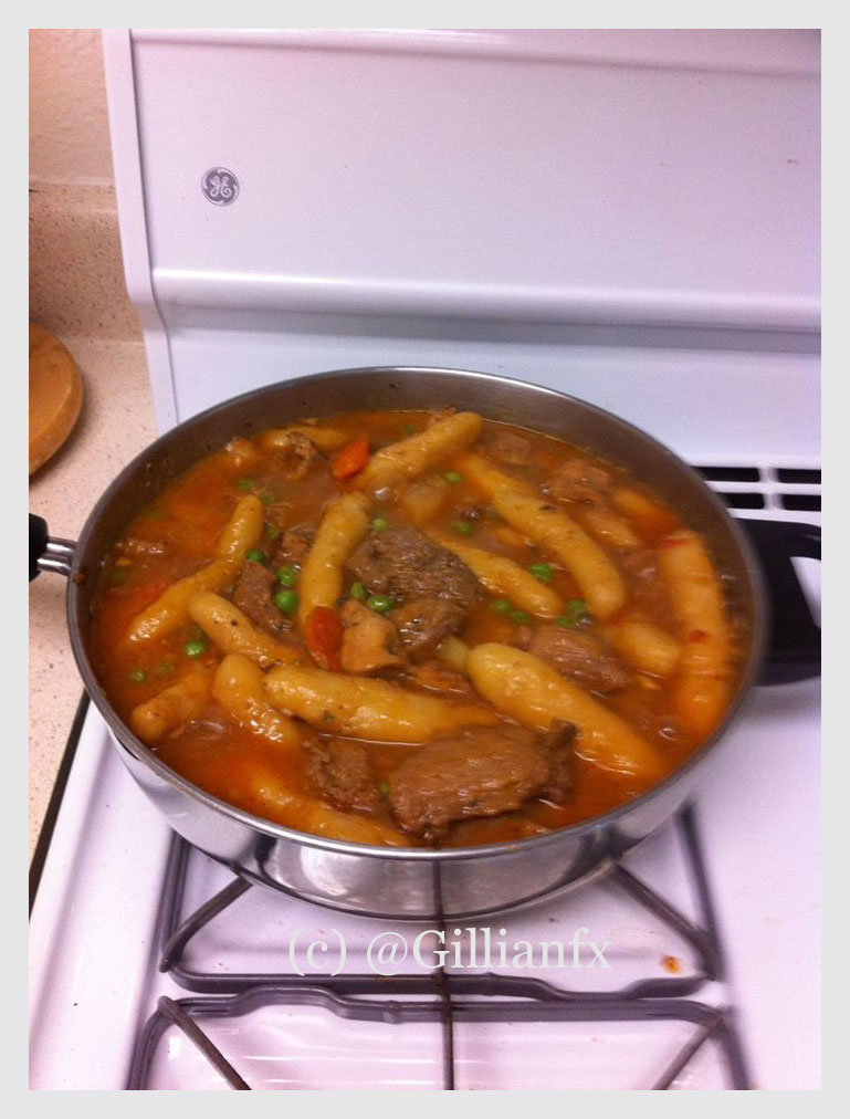 Mama's Cassava Dumpling Stew