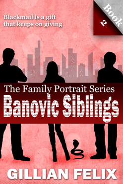 New cover for the Banovic Siblings