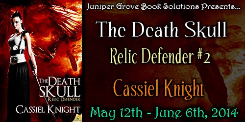 The Death Skull tour banner