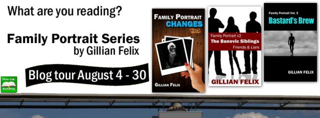Family Portrait book tour banner